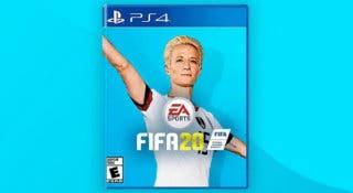 Una petición solicita a Megan Rapinoe como portada de FIFA 20