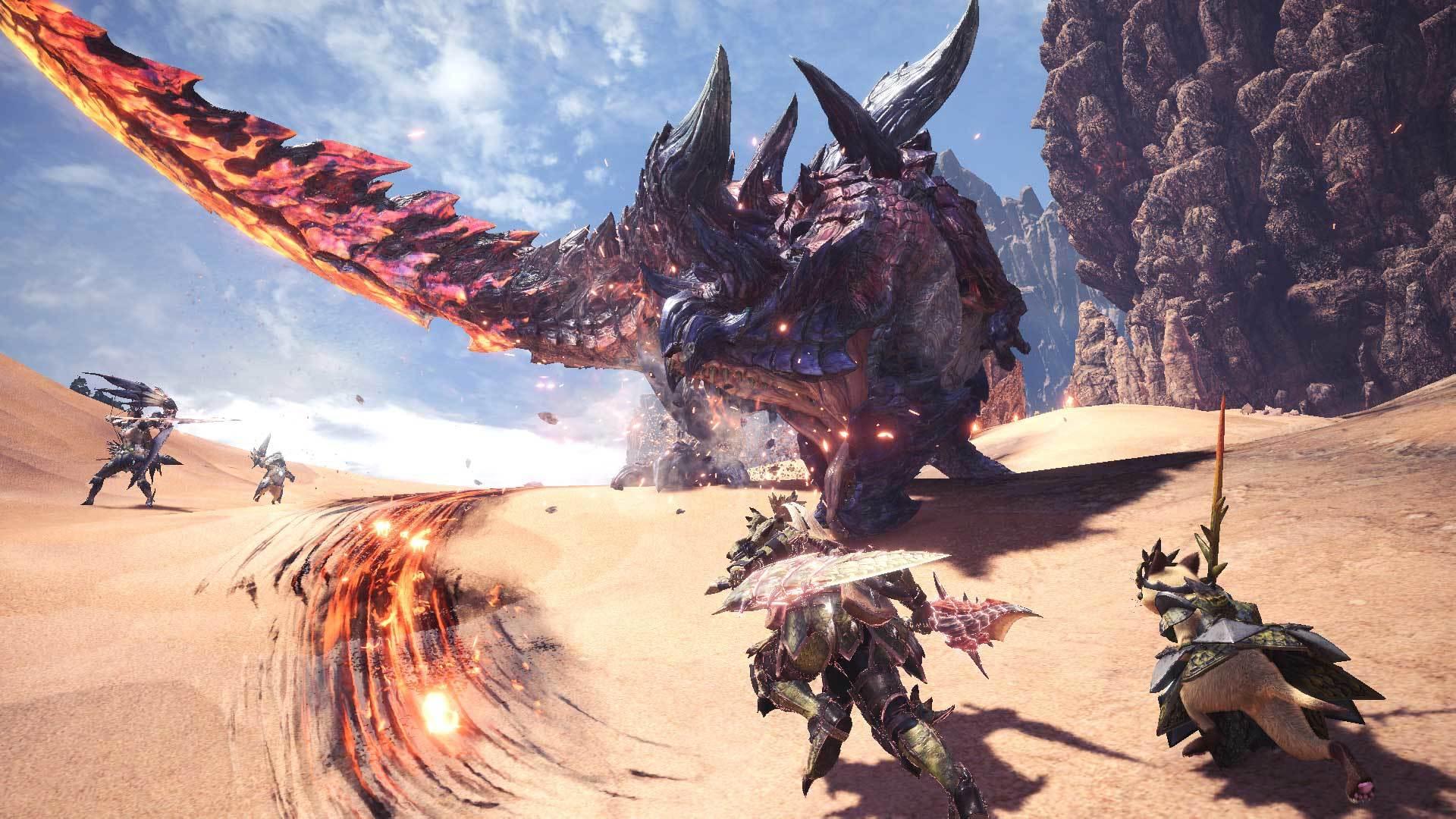 Imagen de Monster Hunter: World triplicó las expectativas de venta de Capcom