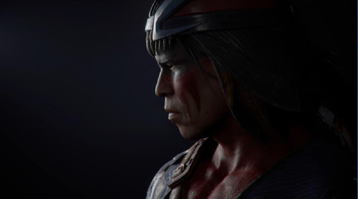Imagen de Nightwolf de Mortal Kombat 11 exhibe sus skins y animaciones en vídeo