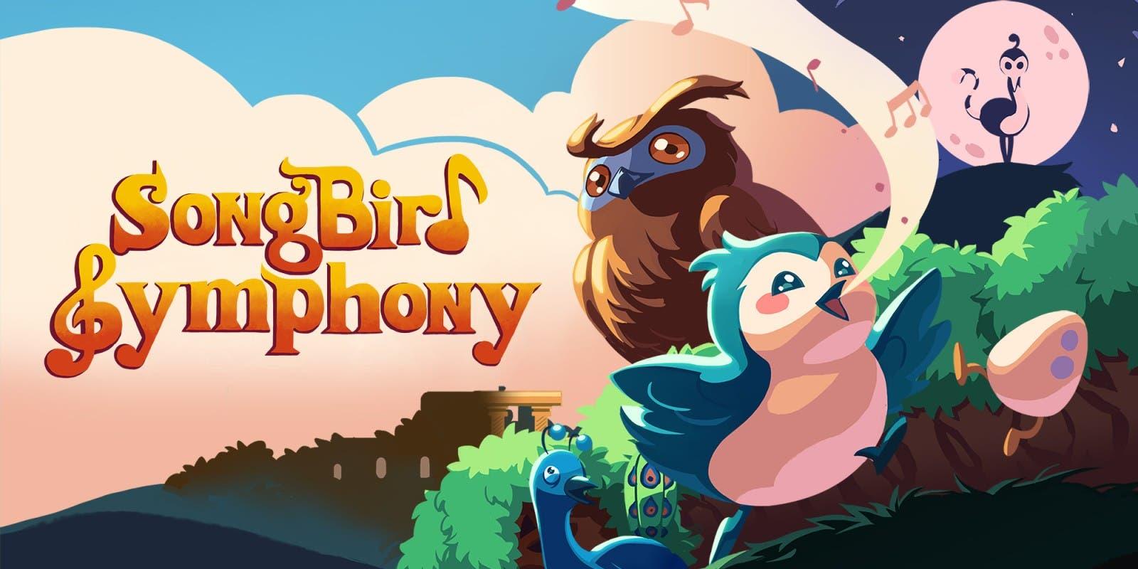 Imagen de Songbird Symphony, el colorido título musical de Joysteak, celebra su lanzamiento con un nuevo gameplay