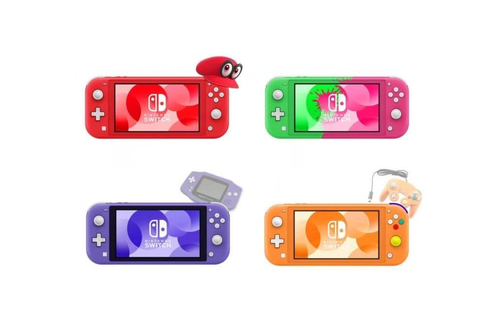 Diseños de Switch Lite para McCoy Customs