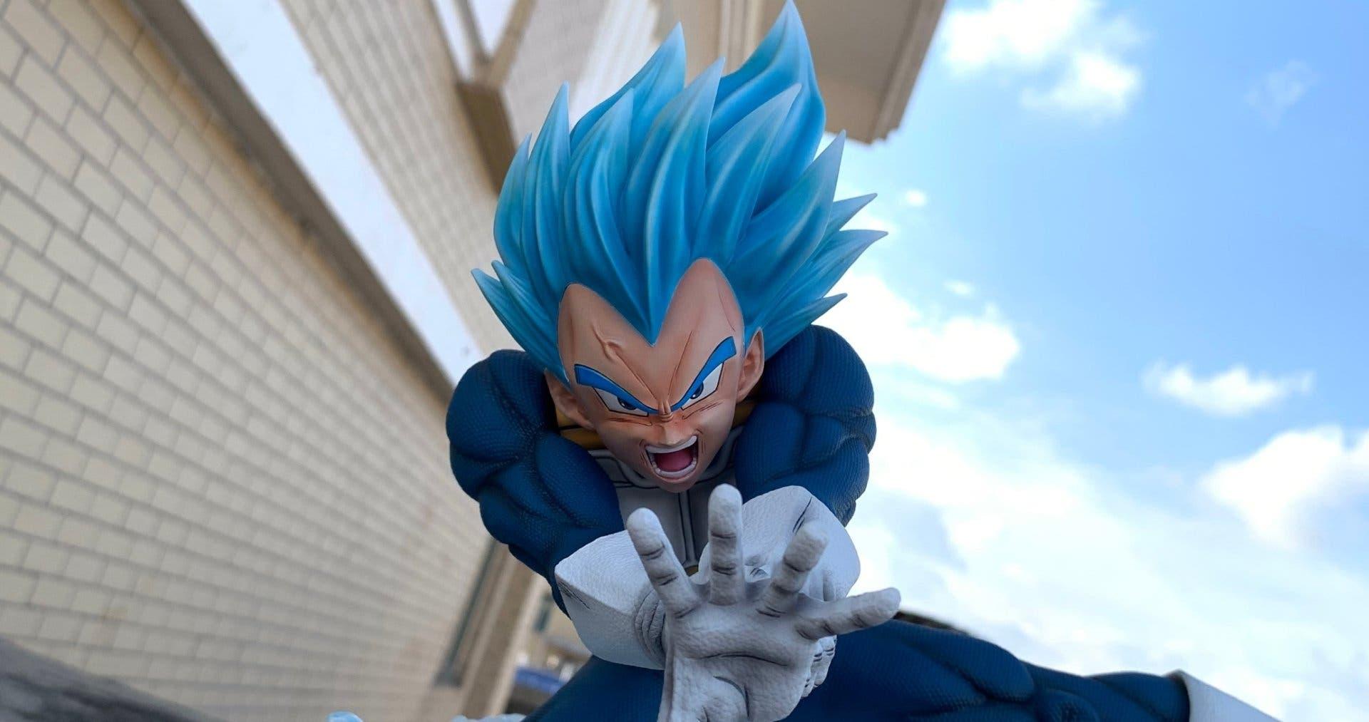 Imagen de KRC presenta esta espectacular figura de Vegeta en Dragon Ball Super
