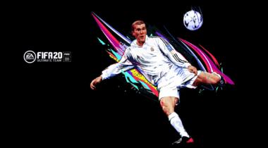 Imagen de Zinedine Zidane es la portada de la Ultimate Edition de FIFA 20