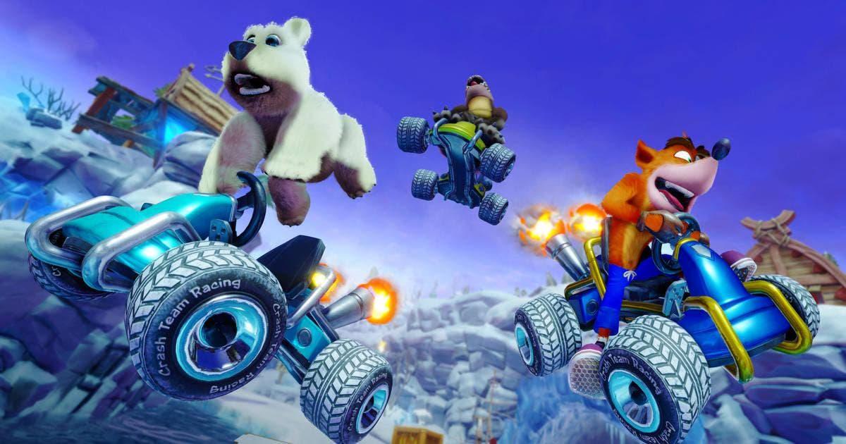 Imagen de Crash Team Racing mejora los tiempos de carga en Switch con su última actualización