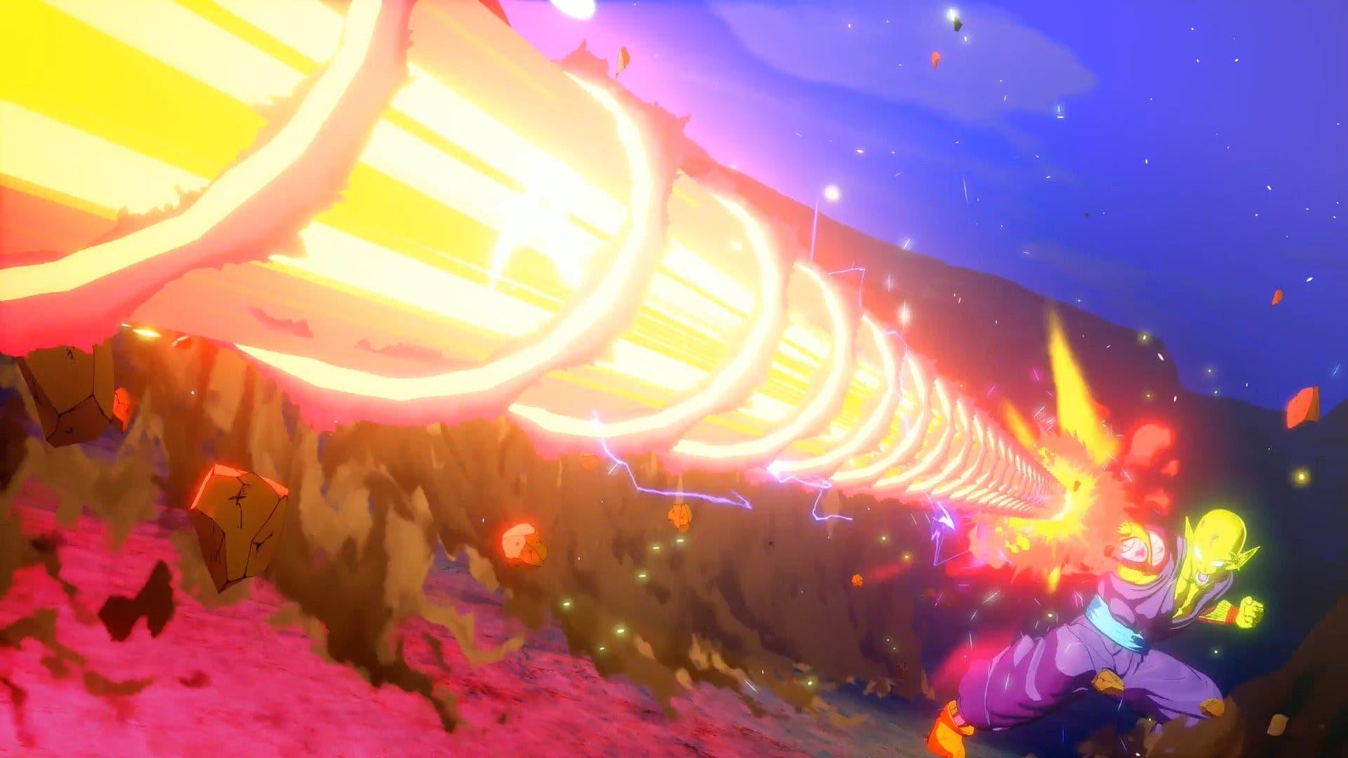 Imagen de Dragon Ball Z Kakarot muestra a Raditz, Nappa, Vegeta y Piccolo en nuevas imágenes