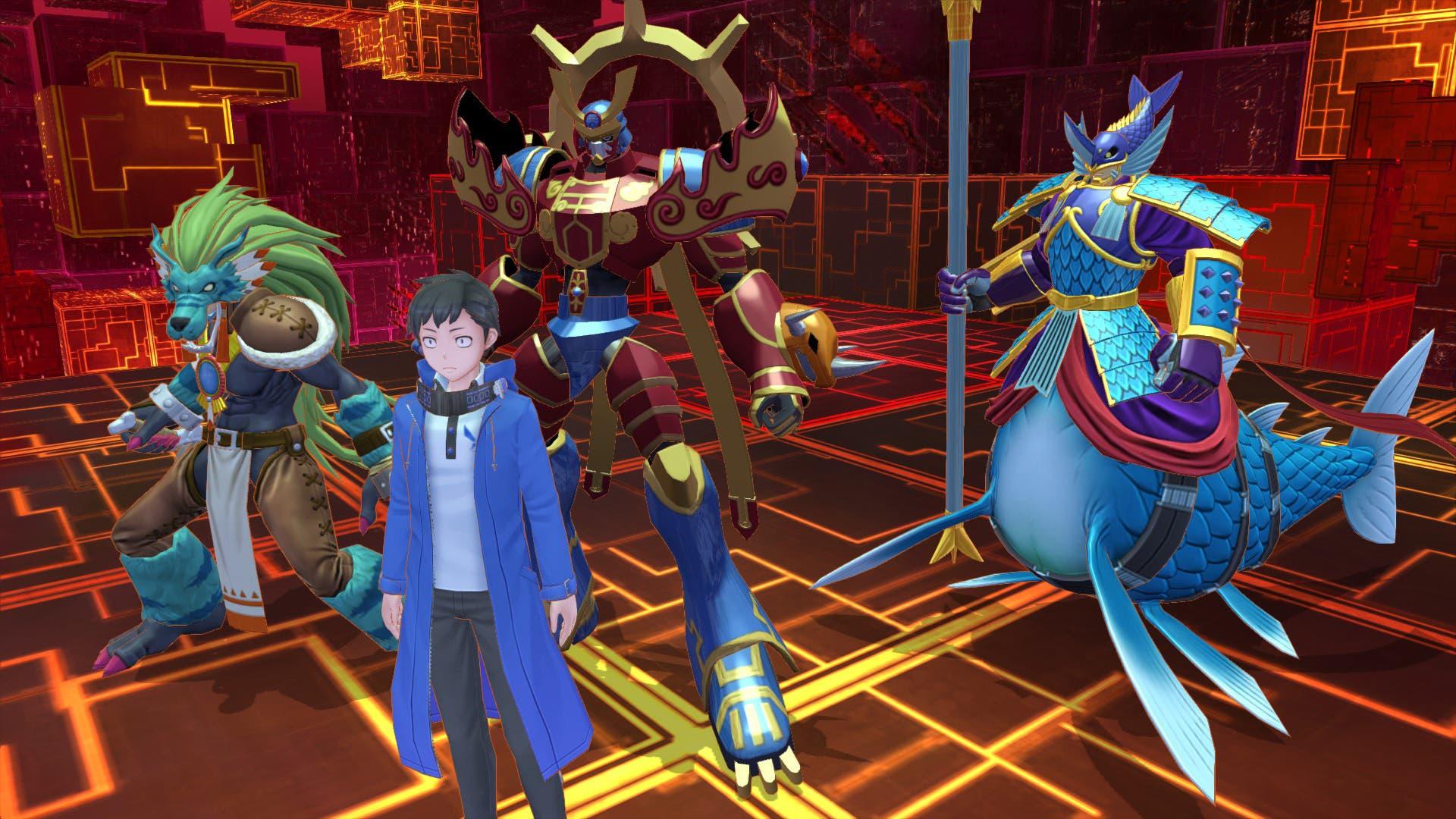 Imagen de Digimon Story: Cyber Sleuth Complete Edition solo tendrá textos en inglés y alemán