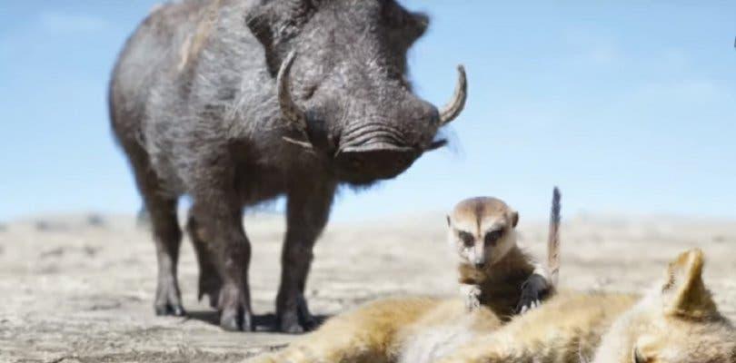 Timón y Pumba protagonizan el nuevo clip de El Rey León