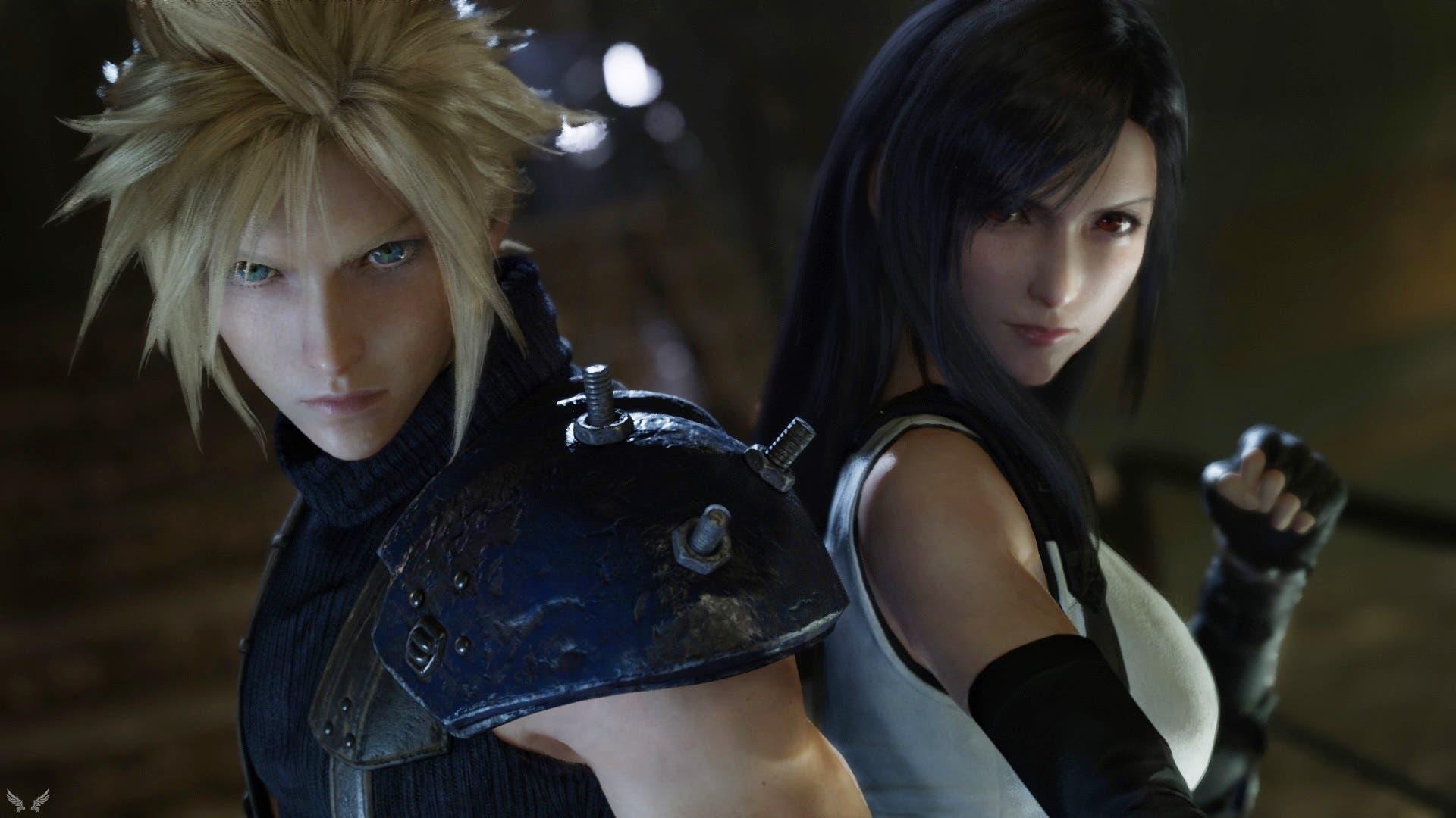 Imagen de Final Fantasy VII Remake es recreado en Dreams con un aspecto increíble