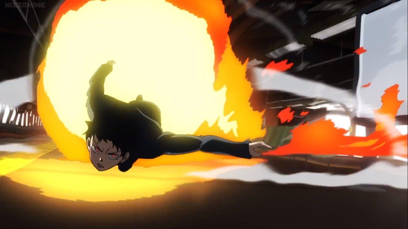 Imagen de Crítica de Fire Force 1x01: La viva danza del fuego