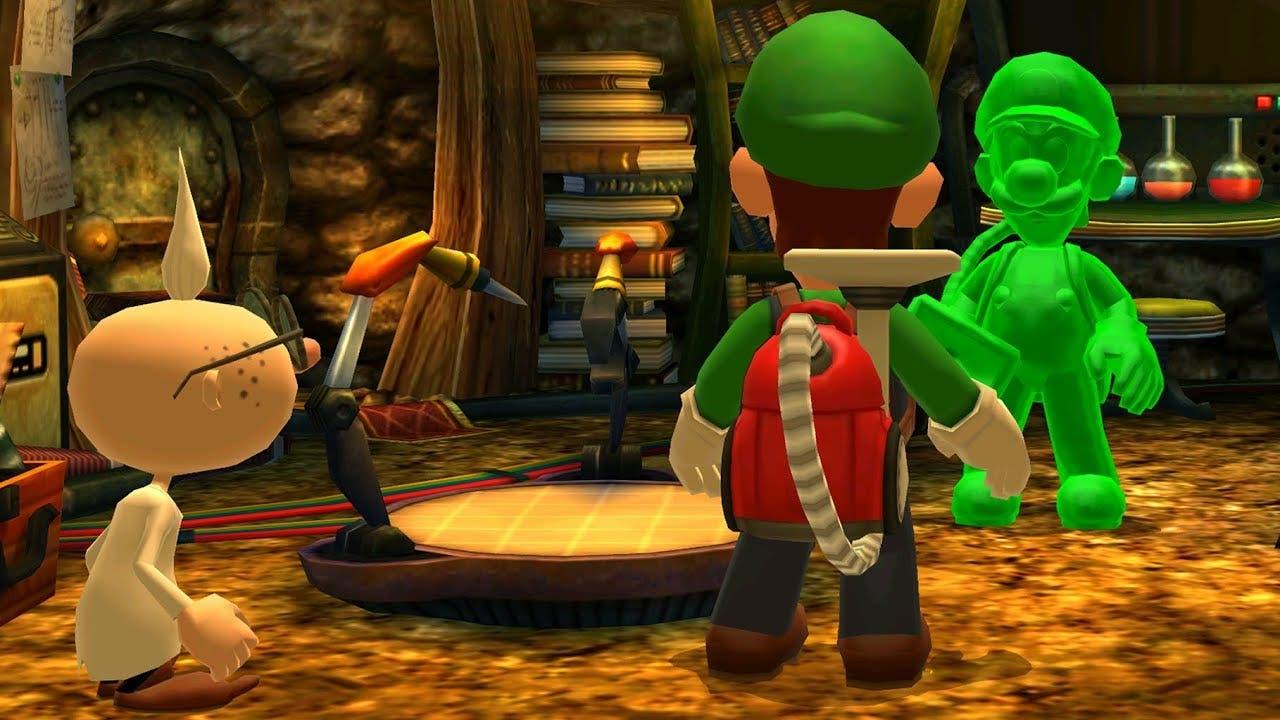 Imagen de Gomiluigi fue ideado especificamente para Luigi's Mansion 3 antes de decidir incluirlo en el remake de la primera entrega