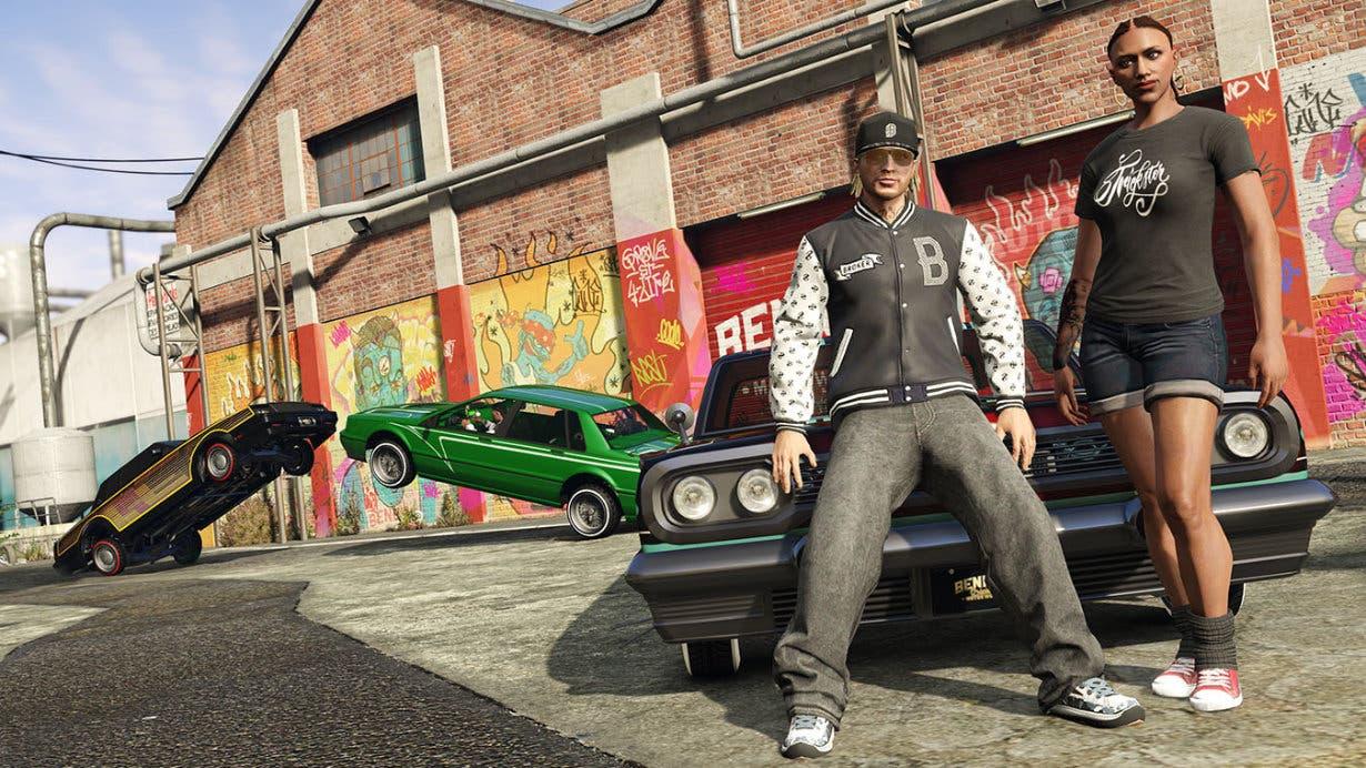 Imagen de La nueva radio de GTA V: iFruit Radio, está conducida por Danny Brown acompañado por Skepta