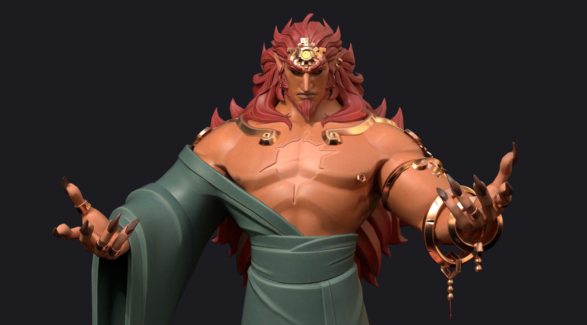 Imagen de Un ilustrador imagina cómo será la apariencia de Ganon en el esperado Zelda Breath of the Wild 2