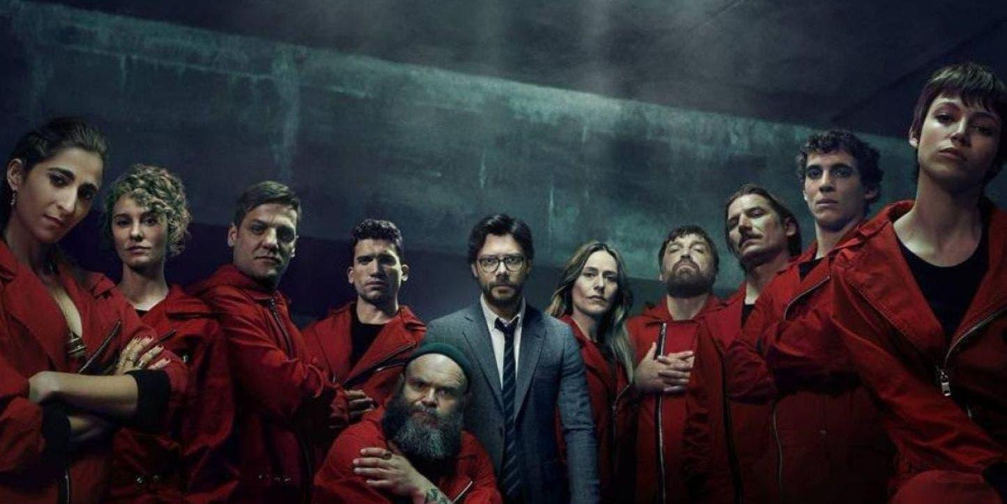 Imagen de Las despedidas de los actores de La Casa de Papel tras el rodaje de la cuarta temporada
