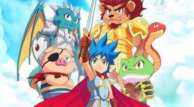 Imagen de Monster Boy and the Cursed Kingdom ya se encuentra disponible para PC en GOG y Steam