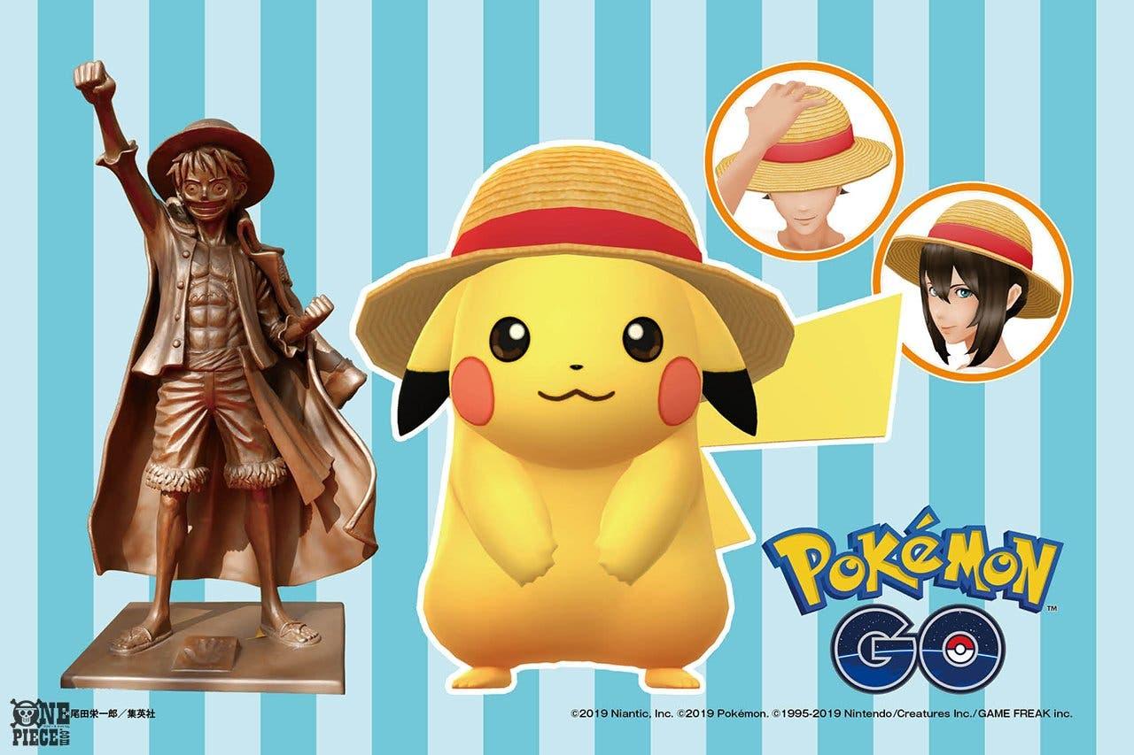 Pikachu y Luffy se unen en nuevo evento