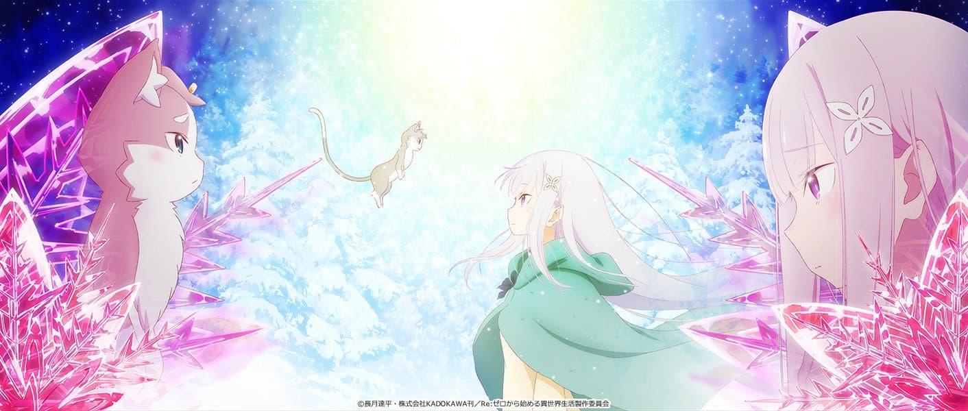 Imagen de Re:Zero Hyouketsu no Kizuna, el segundo OVA del anime, se luce en un tráiler