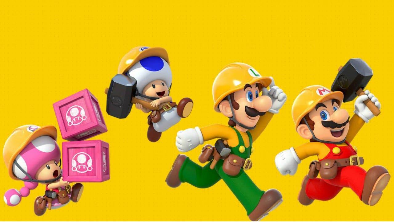 Imagen de Super Mario Maker 2 suma el online con amigos en la actualización 1.1.0