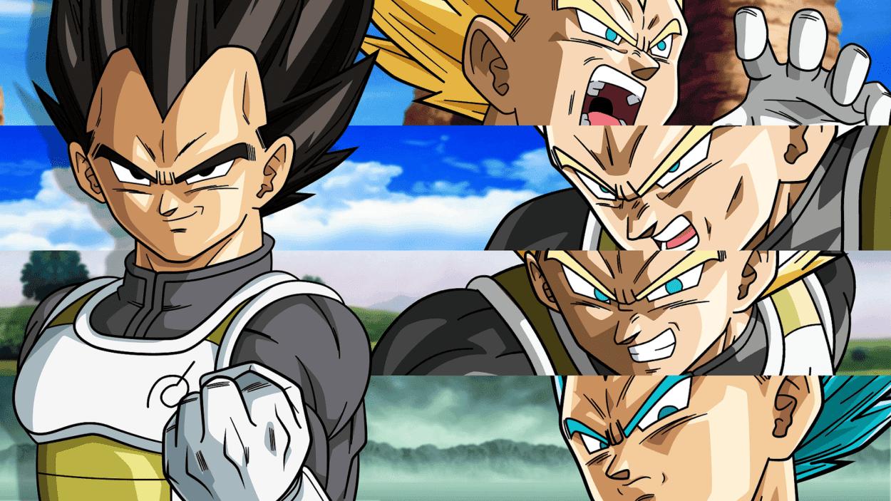 Imagen de Las 24 transformaciones de Vegeta en Dragon Ball