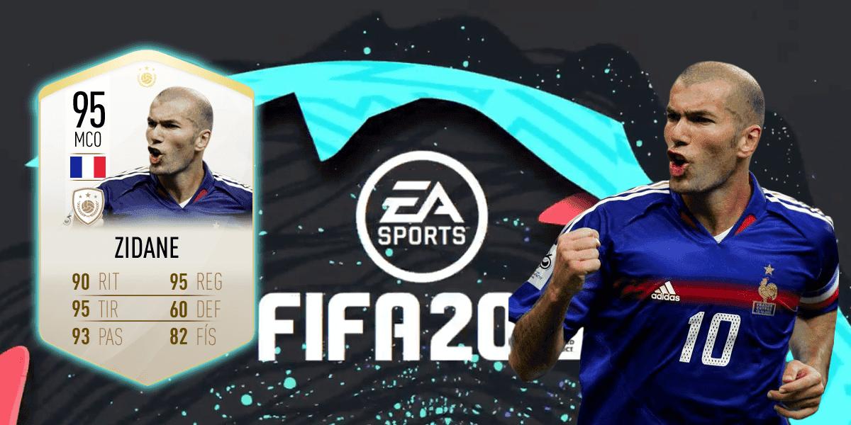 Imagen de Zinedine Zidane podría ser la portada de la Edición Ultimate de FIFA 20