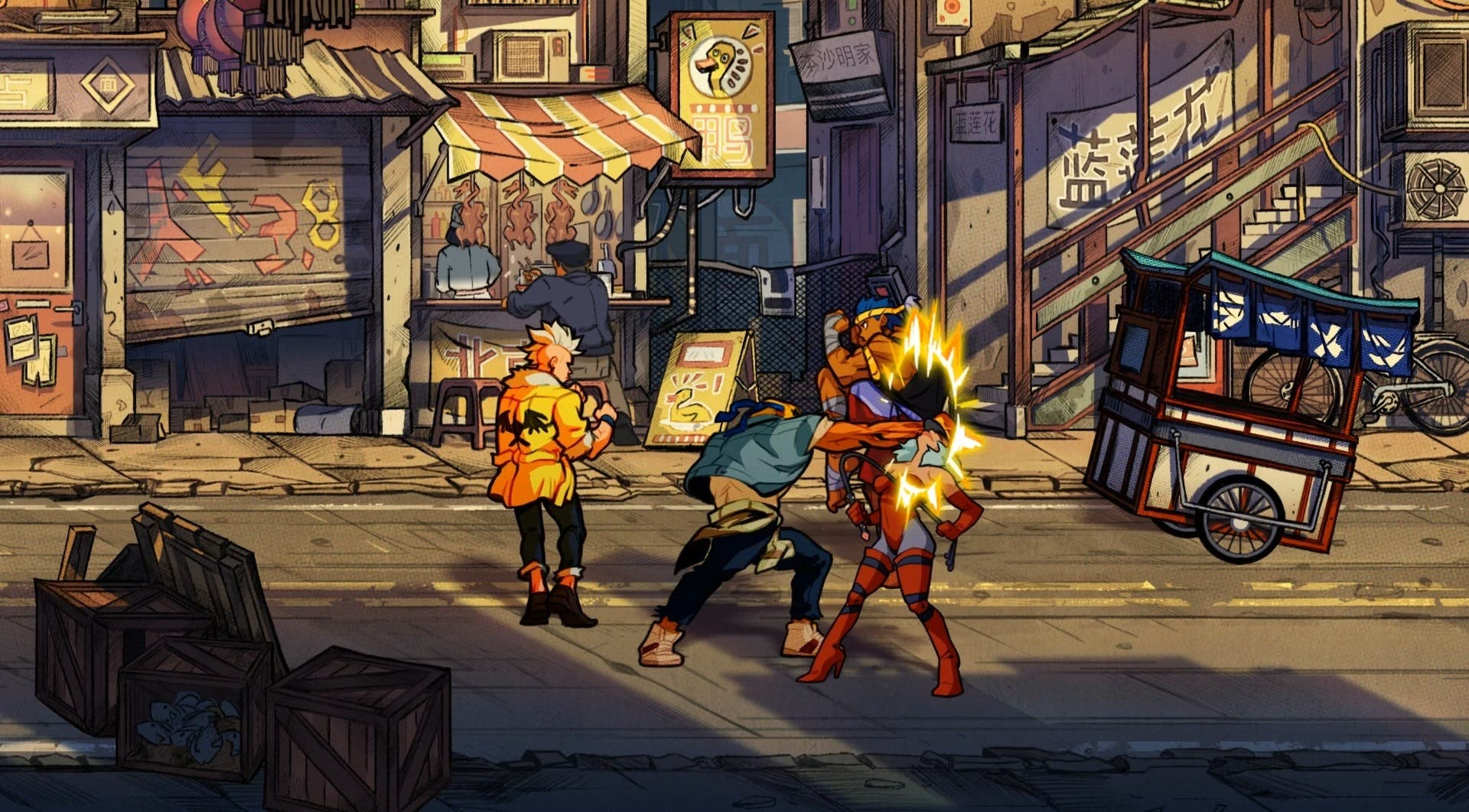 Imagen de Streets of Rage 4 también se deja ver por el PAX West 2019 con nuevo gameplay