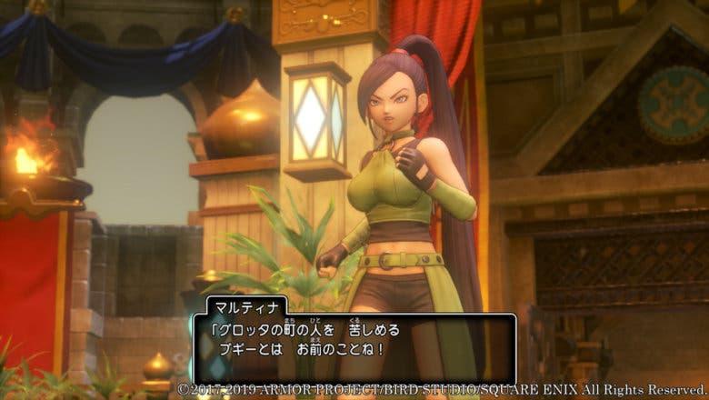 Imagen de Dragon Quest XI S se luce en nuevas imágenes en su versión para Switch