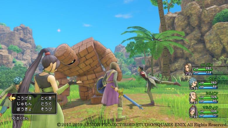 Imagen de Dragon Quest XI S presenta sus características exclusivas por medio de nuevas y espectaculares imágenes