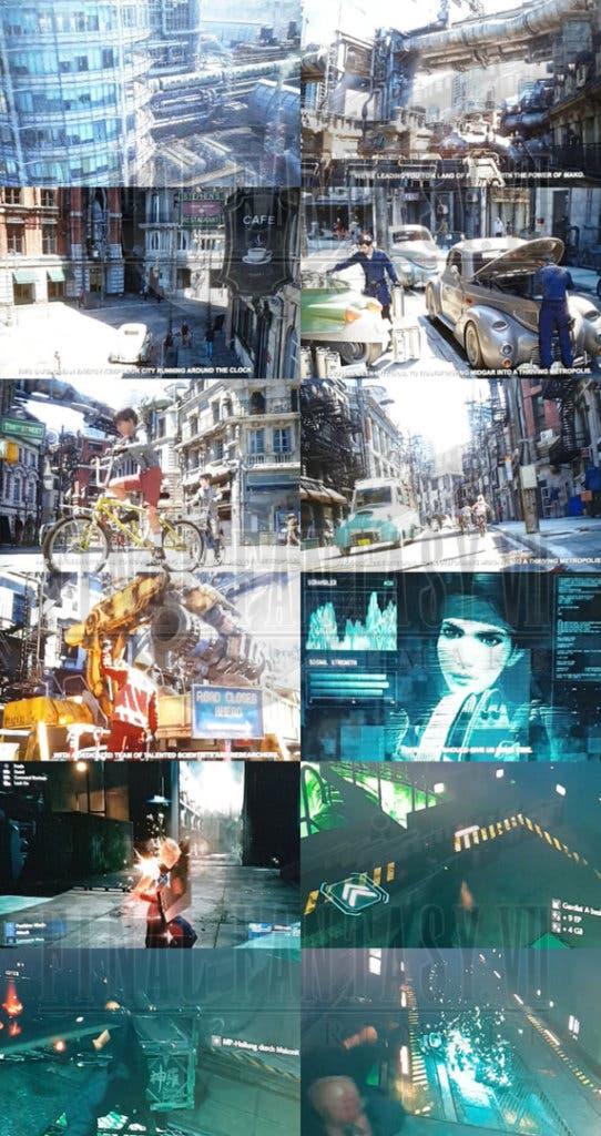 Final Fantasy VII Remake Shinra Video