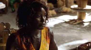 Imagen de Lupita Nyong'o combate una horda de zombies en el primer tráiler de Little Things