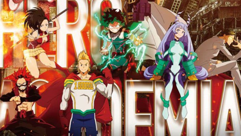 My Hero Academia: Primer póster oficial de la cuarta temporada