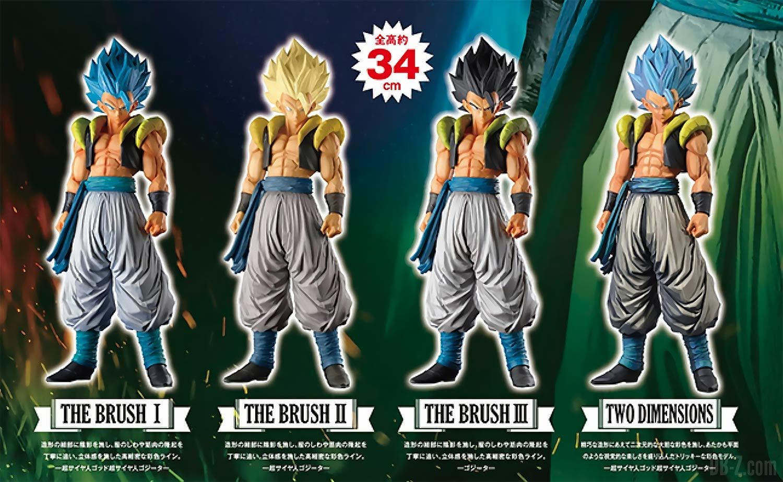 Calendario Supermaster.Dragon Ball Super Gogeta Llega A La Linea De Figuras Super