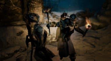 Imagen de Un jugador culmina The Elder Scrolls V: Skyrim usando solo una antorcha