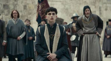 Imagen de Timothée Chalamet protagoniza el primer póster de The King, lo nuevo de Netflix