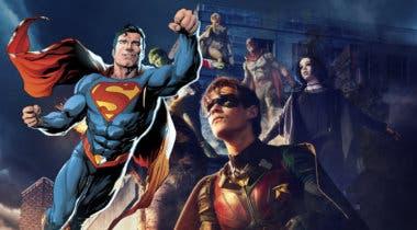 Imagen de Superman podría aparecer en la segunda temporada de Titanes