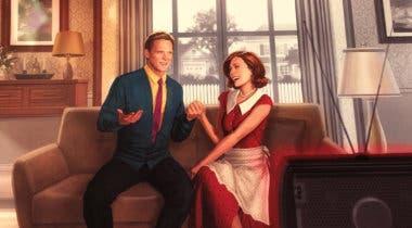 Imagen de El primer póster de WandaVision genera todo tipo de teorías en torno a Burja Escarlata