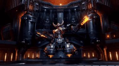 Imagen de DOOM Eternal presenta un nuevo enemigo, el DOOM Hunter, en vídeo