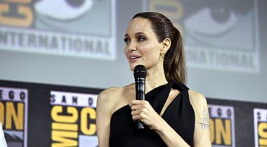 Imagen de Angelina Jolie promete entrenar duro para estar a la altura de Los Eternos