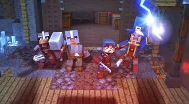Imagen de Minecraft Dungeons nos deja con un nuevo gameplay durante la Gamescom