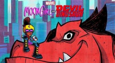 Imagen de Moon Girl and Devil Dinosaur es la nueva serie de Disney Channel