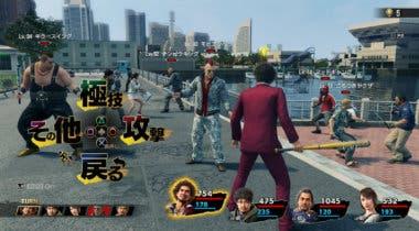 Imagen de Yakuza: Like a Dragon muestra brevemente su nuevo gameplay como JRPG