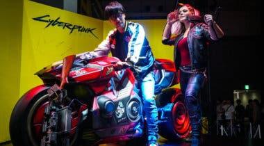 Imagen de Hideo Kojima visita a Cyberpunk 2077 en el Tokyo Game Show