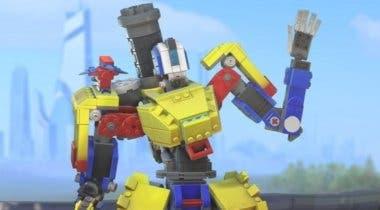 Imagen de LEGO llega a Overwatch en forma de skin para Bastion gracias a un nuevo evento