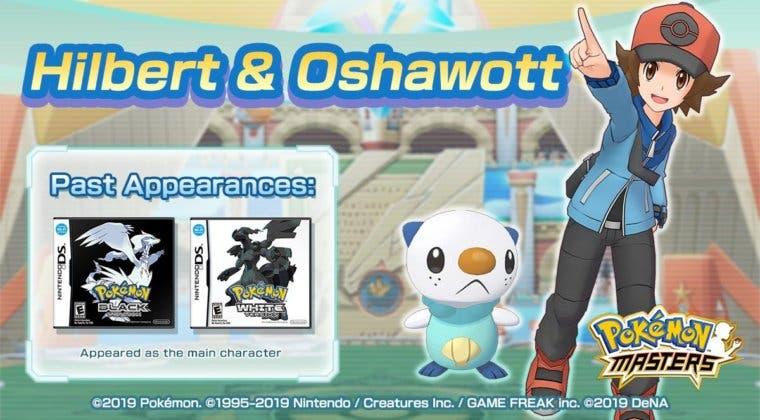 Imagen de Hilbert y Oshawott forman la nueva pareja de Pokémon Masters