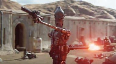 """Imagen de El robot de Taika Waititi en The Mandalorian será como """"un niño con una pistola"""""""