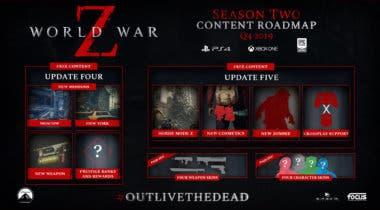 Imagen de World War Z detalla las actualizaciones para su segunda temporada