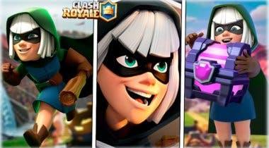 Imagen de Se acerca el desafío de la Bandida a Clash Royale