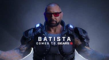 Imagen de El actor Dave Bautista da la sorpresa: será un personaje jugable en Gears 5
