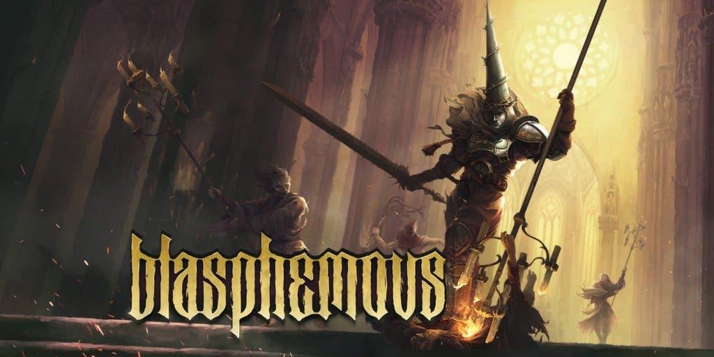 blasphemous review logo
