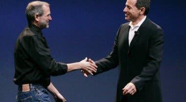 Imagen de Bob Iger hubiera fusionado Disney con Apple de haber seguido teniendo a Steve Jobs