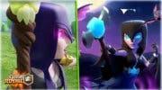 Imagen de Avalancha de brujas en el nuevo desafío de bruja noctura de Clash Royale