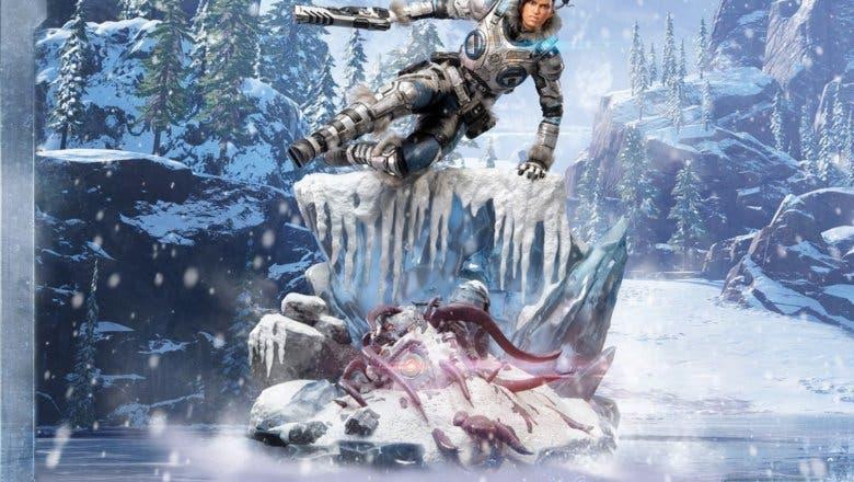 Imagen de Kait Díaz se luce en una imponente figura ansiosa por el lanzamiento de Gears 5